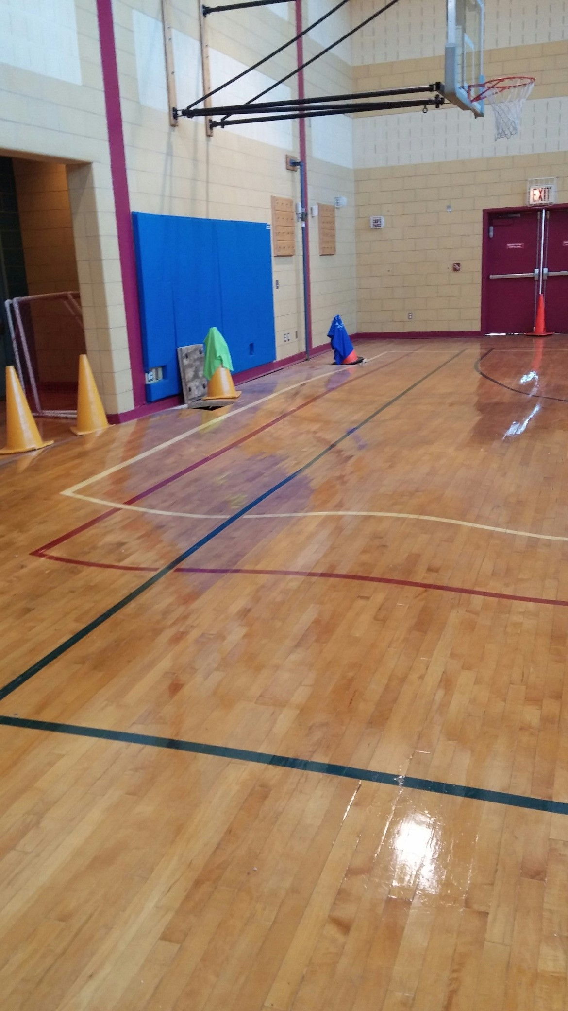 K395 Gym Floor Installation