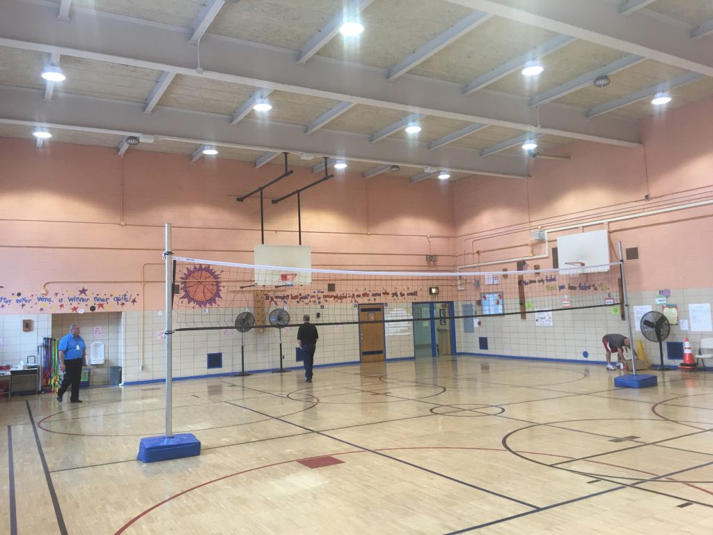 Q018 New Gym Floor, Wall Padding, and Paint