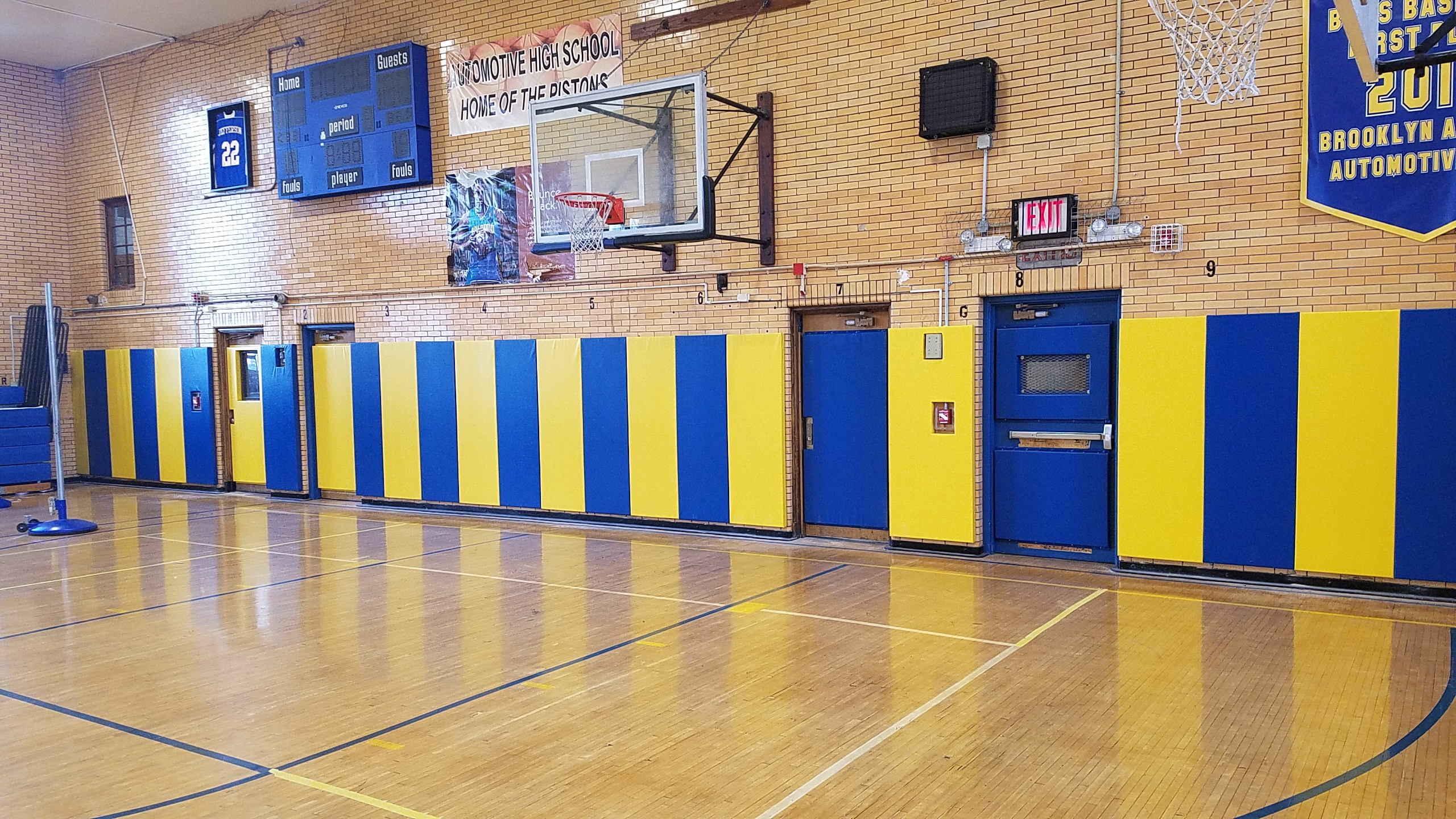 K610 Gym Wall Padding