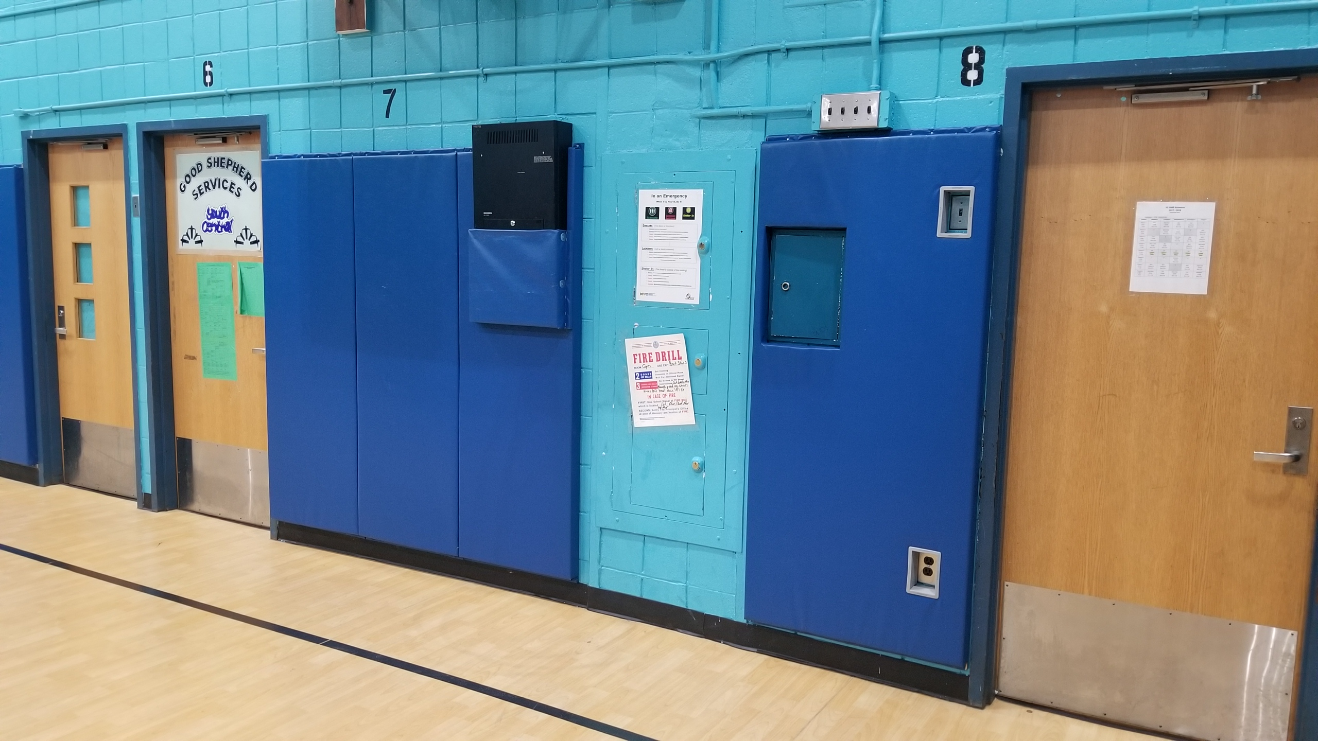 X206 Gym Wall Padding